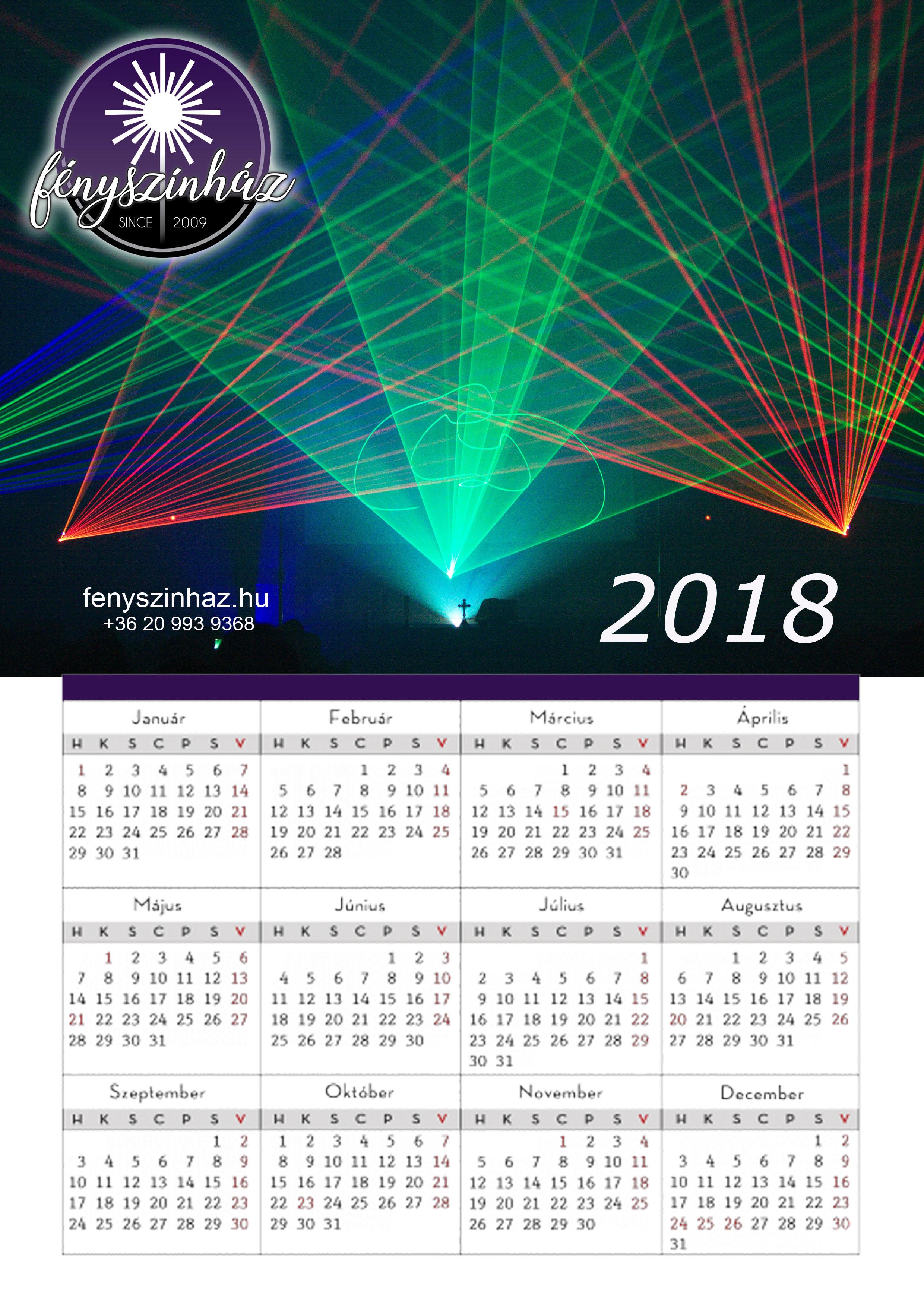 2009 naptár február 2018 letölthető, nyomtatható naptár | FÉNYSZÍNHÁZ   Lézerszínház 2009 naptár február